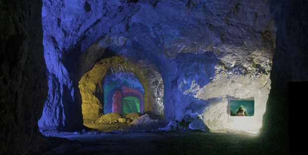 Sustainable Quarry: Murisengo Underground Gallery